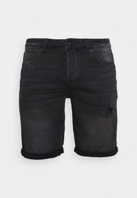 Only & Sons - ONSPLY  - Jeansshorts - black denim - 3