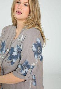 Paprika - Button-down blouse - taupe - 3