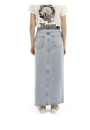 Maxi skirt - powder blue