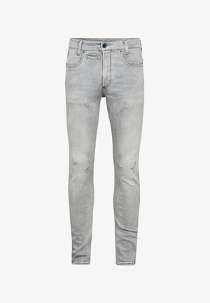 D-STAQ 3D SLIM - Slim fit jeans - vintage oreon grey destroyed