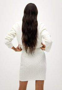 Mango - UPPER - Mini skirt - blanc - 2