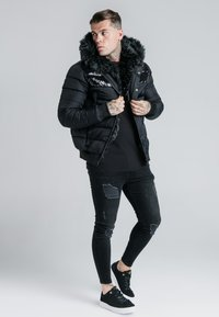 SIKSILK - ELITESHORT PARKA - Winterjas - black - 1