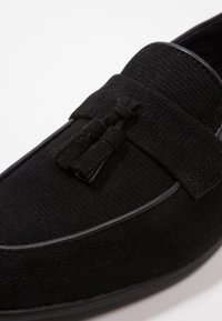 Topman - PRINCE LOAFER - Mocassini eleganti - black - 5