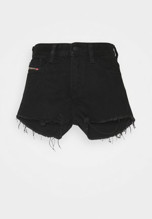 DE-RIFTY - Denim shorts - denim black