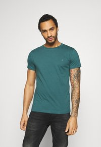 Replay - 2 PACK - T-shirt basic - sand /green - 1