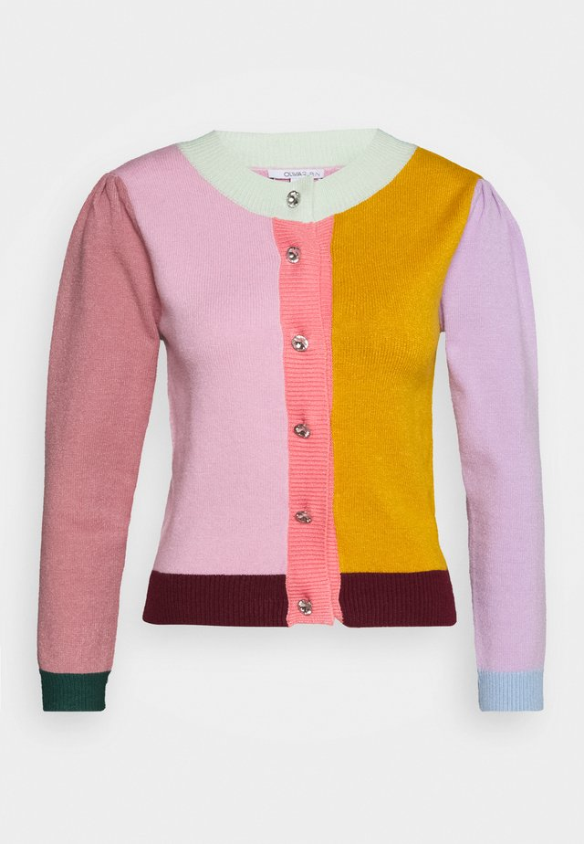 DEE CARDIGAN - Kardigan - colourblock