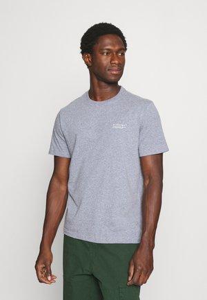 KURZARM - Basic T-shirt - blue melange