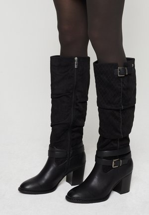 MIRIANA - Cowboy- / Bikerboots - black