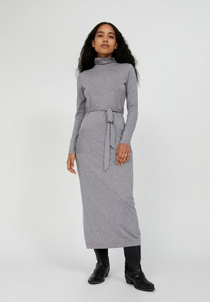 TALINAA  - Shift dress - mid grey melange