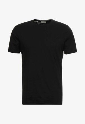 SLHLUKE O-NECK TEE - T-paita - black