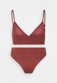 Roxy - WILDBABE SET - Bikini - marsala - 1