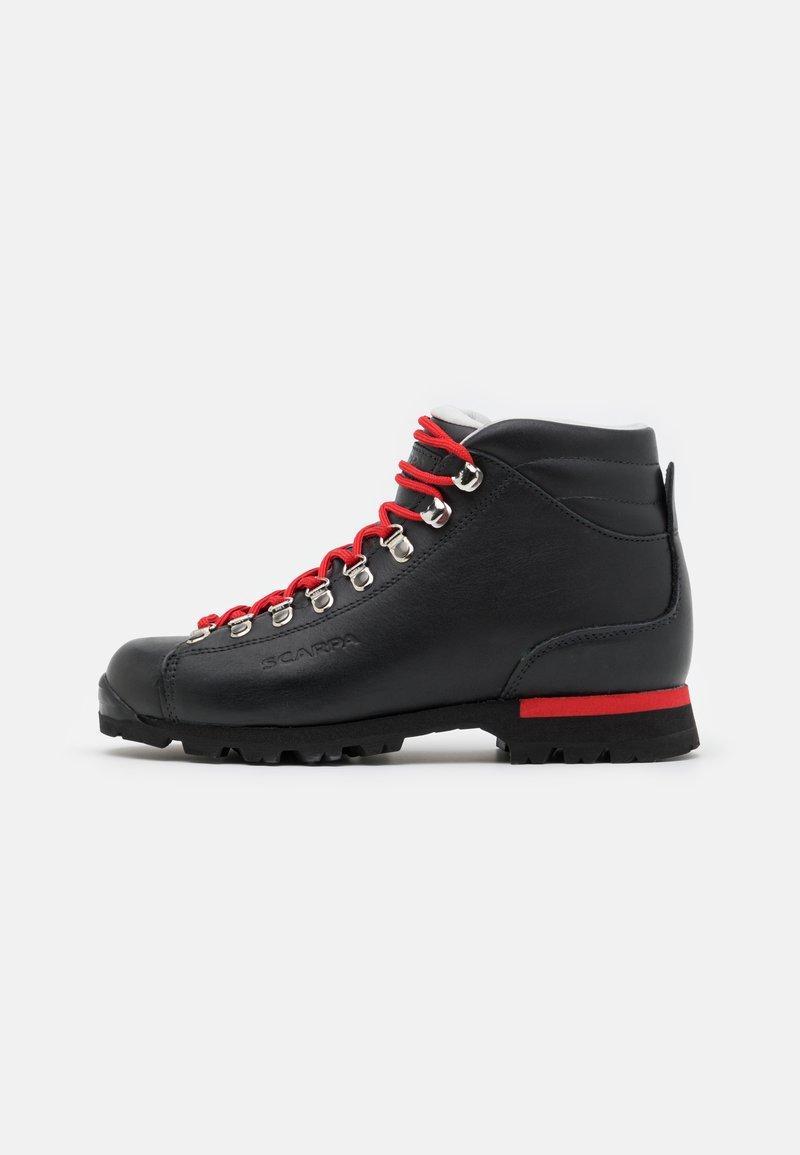 Scarpa - PRIMITIVE UNISEX - Hiking shoes - black/red