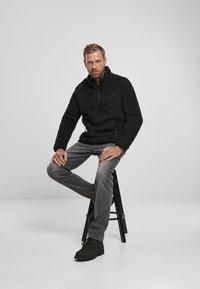 Brandit - Fleece jumper - black - 1