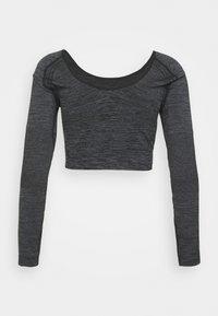 Calvin Klein Performance - LONG SLEEVE  - Top sdlouhým rukávem - black - 6
