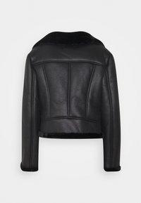 Missguided Petite - LINED AVIATOR - Winter jacket - black - 1