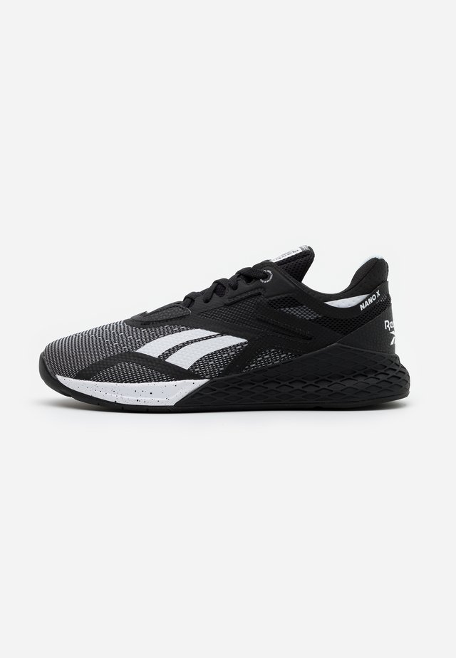NANO X - Sports shoes - black/white