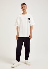 PULL&BEAR - T-shirt print - white - 1