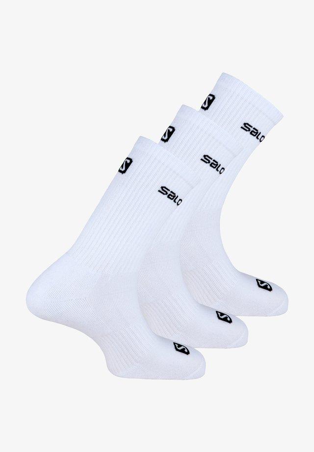 3 PACK - Socks - weiß