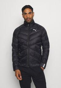 Puma - WARM PACKLITE - Gewatteerde jas - black - 0