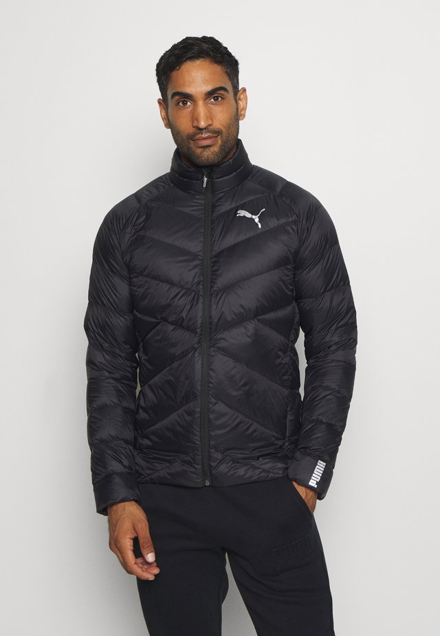 WARM PACKLITE - Daunenjacke - black