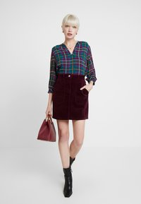 Dorothy Perkins - PATCH POCKET SKIRT - Mini skirt - mauve - 1