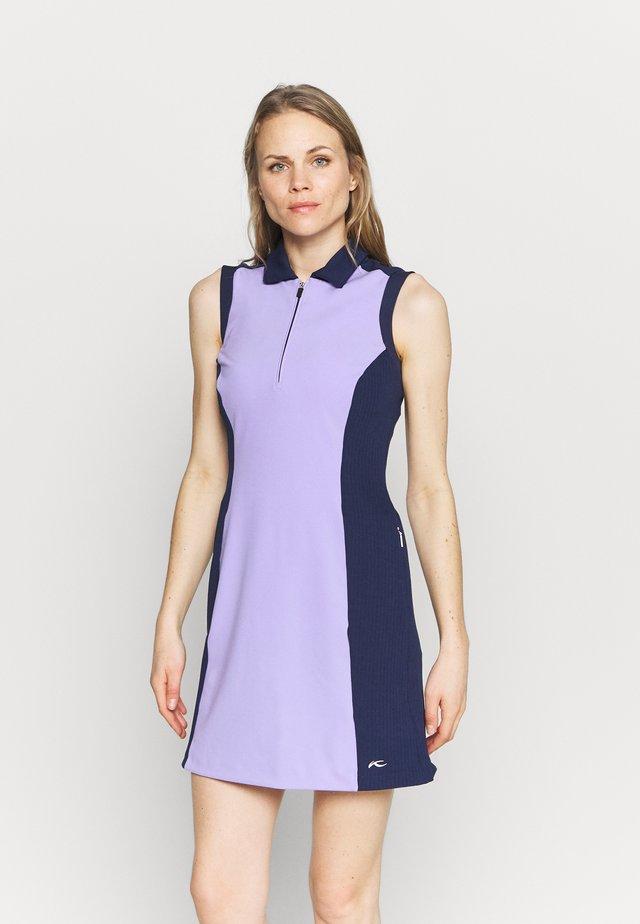 WOMEN SUSI DRESS - Robe de sport - iris purple/atalanta blue
