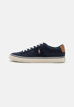 SAYER TOP LACE UNISEX - Trainers - hunter navy/andrew tartan