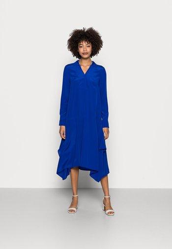DRESS V-NECK - Day dress - dark blue