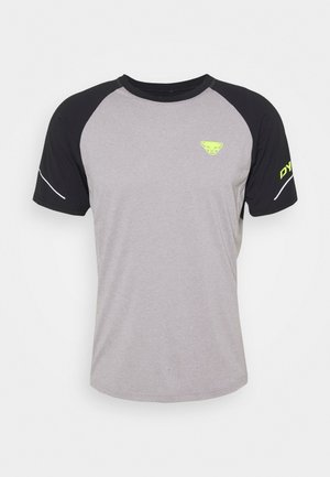 ALPINE PRO TEE - T-shirt con stampa - black out