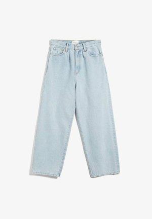 Straight leg jeans - powder indigo