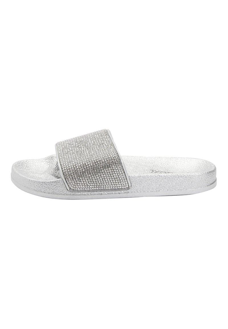 Next - SILVER HEATSEAL SLIDERS (OLDER) - Pantolette flach - silver