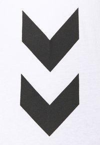 Hummel - LEGACY 2 PACK - T-shirt med print - black/white - 4