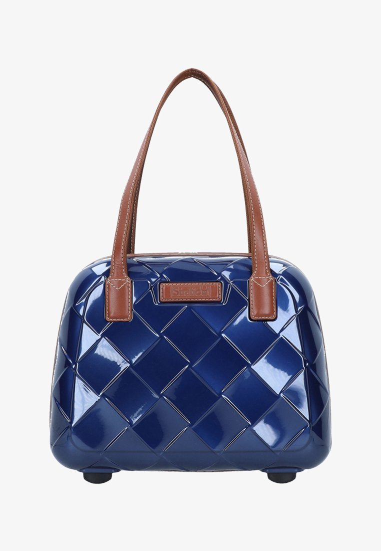Stratic - LEATHER & MORE - Kosmetiktasche - blue