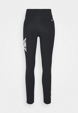 7/8 TROMPE  - Leggings - black/white
