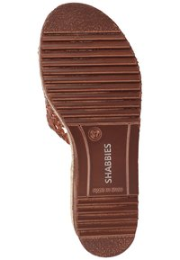 Shabbies Amsterdam - Mules - cognac - 4