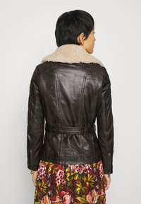 Gipsy - CYLIA LAMAS - Leather jacket - antra - 2