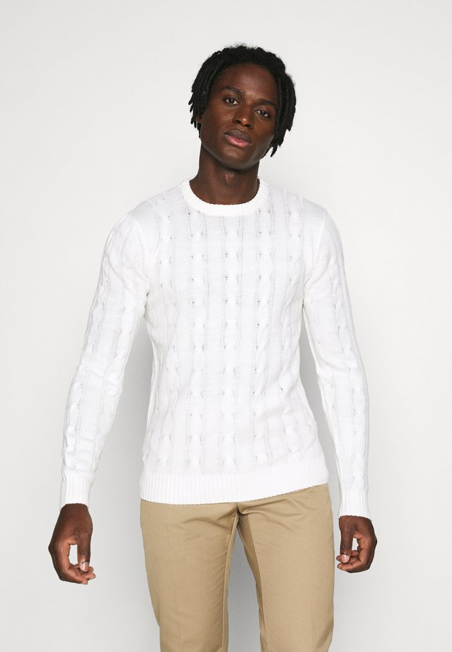 MAOC - Pullover - vintage white