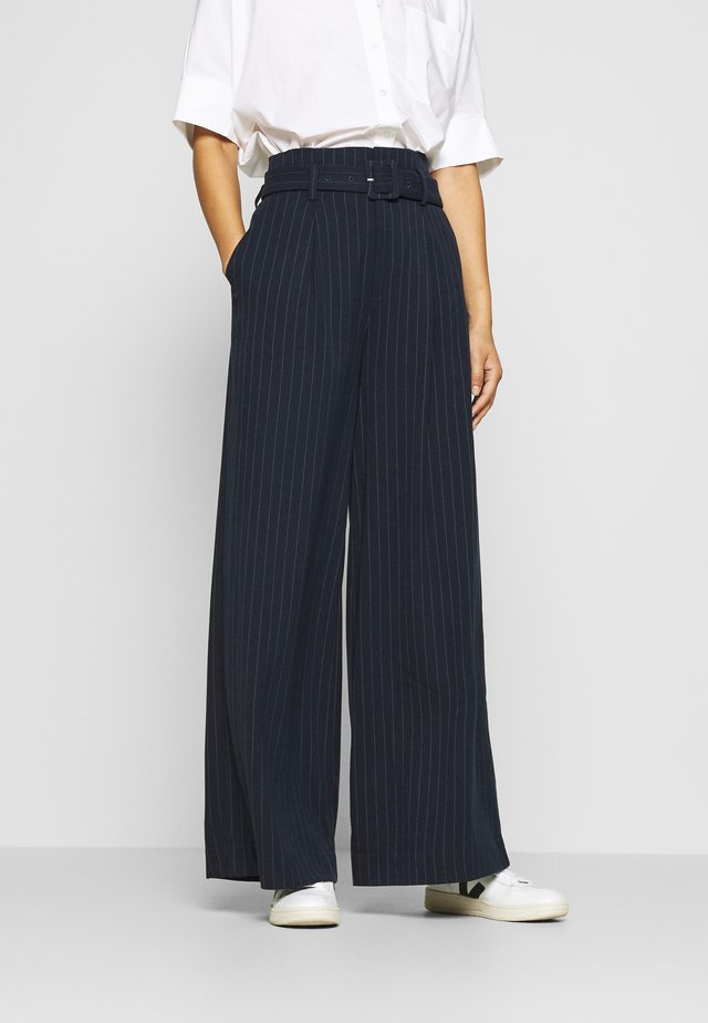 ESILGZ PANTS  - Pantaloni - dark blue