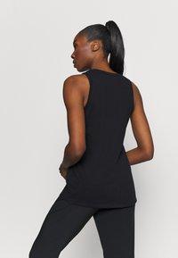 Nike Performance - DRY TANK FEMME - Camiseta de deporte - black - 2