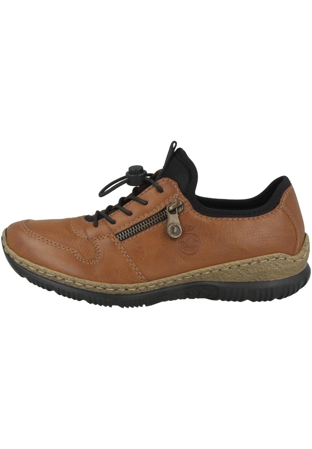 Damer Sneakers - cayenne/black