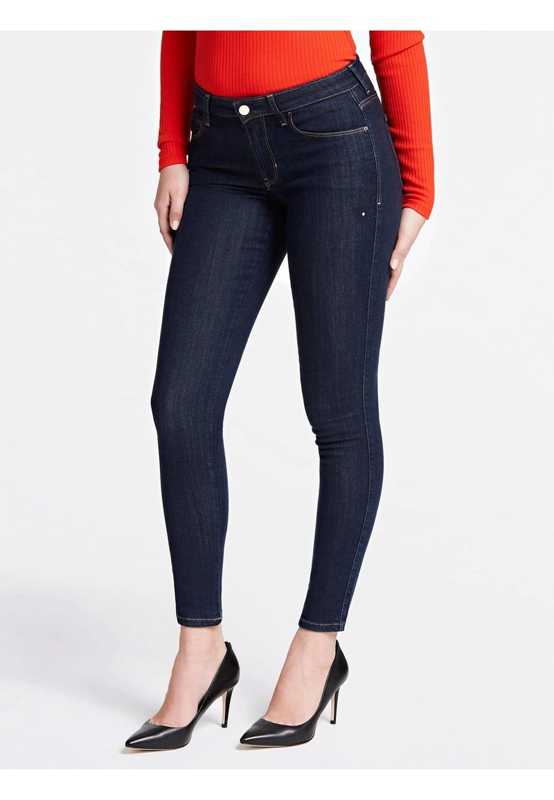 Guess - JEANS SKINNY FIT - Jeans Skinny Fit - dunkelblau