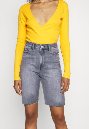 ECHO  - Denim shorts - washed grey