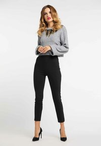 faina - Jumper - light grey melange - 1