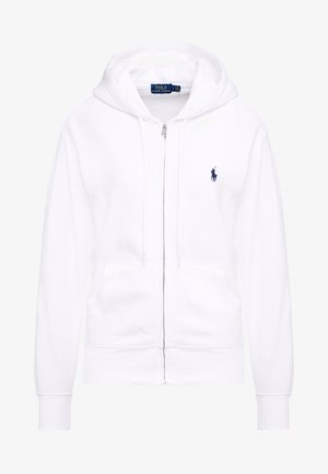SEASONAL  - Zip-up hoodie - white