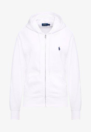 SEASONAL  - Zip-up hoodie - white