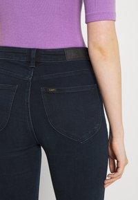 Lee - SCARLETT HIGH ZIP - Jeans Skinny Fit - dark lea - 6