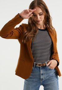 WE Fashion - Blazer - dark brown - 0