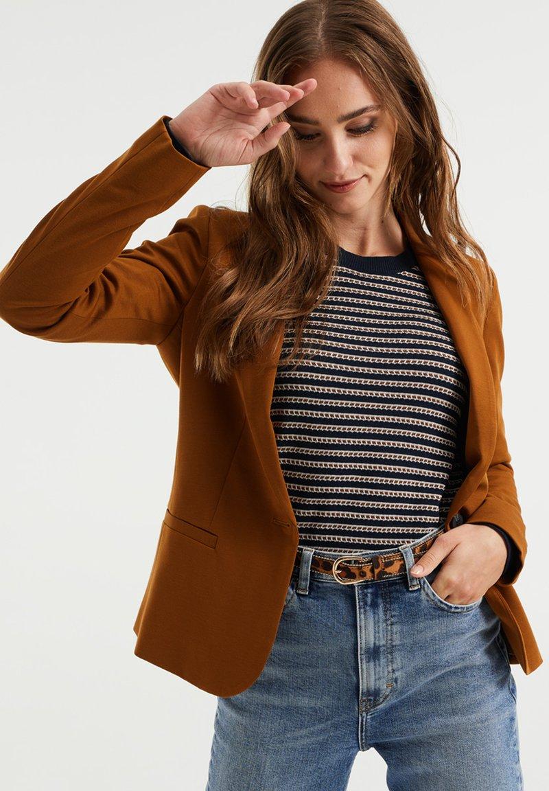 WE Fashion - Blazer - dark brown