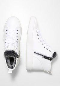 Calvin Klein - SOLEDAD - High-top trainers - white - 2