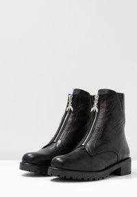 Patrizia Pepe - Classic ankle boots - nero - 4